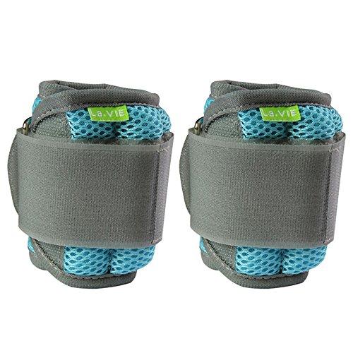 La-VIE(ラヴィ) リスト アンクル ウェイト 耐久性で選ぶアンクルリスト1.5kg 2個入 手足両用