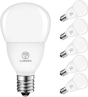 LED電球 E17口金 40W形相当 470LM 4.5W ミニランプ ミニクリプトン 電球色 3000K PSE認証 省エネ 6個入 3年保証 調光器非対応