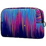 KAMEARI Bolsa de cosméticos hermosa luz del norte grande bolsa de cosméticos organizador multifuncional bolsas de viaje
