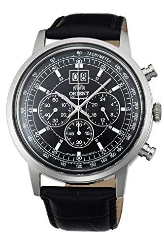 Orient de pulsera reloj de pulsera piel cuarzo Analog ftv02003b0
