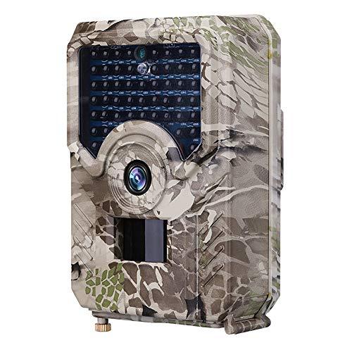 Sugeryy 20 MP Jagdkamera HD 1080P 42 LED Wildlife Scouting Cam Nachtsicht IR Kamera IP65 Wasserdicht für Tierbeobachtung.