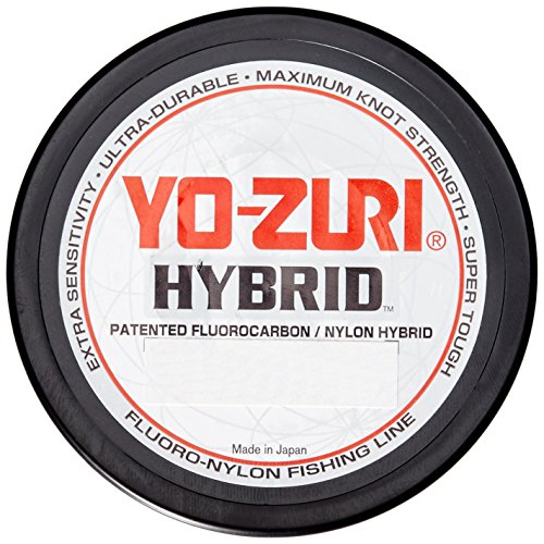 Yo-Zuri Hybrid 600-Yard Fishing Line, Clear, 12-Pound