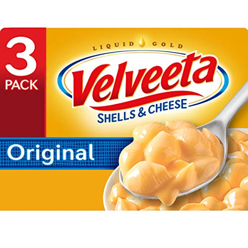Velveeta Original Shells and Cheese Meal 12 oz Boxes Pack of 3