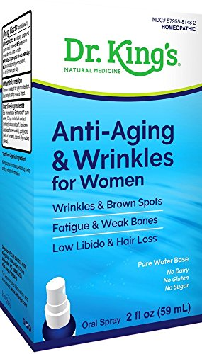 King Bio Homeopathic Anti Aging and Wrinkles Women, 2 Ounce