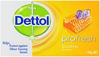 Dettol Soap Profresh Soothe 100g - 3 Pack
