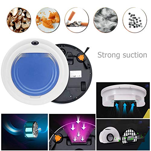 Affordable Self Cleaning Robot Vacuum Cleaner, Max Power Suction Wireless Remote Control Intelligent...