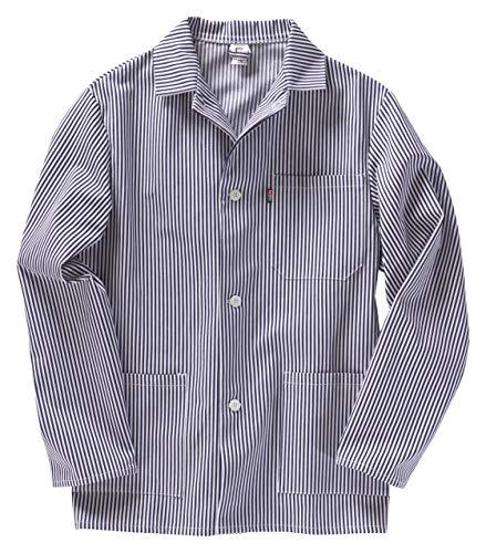 BEB 000565-000324-0005-50 Arbeitskleidung & Uniformen50, marine/weiß Streifen