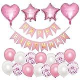 Palloncini Compleanno Bambina, NHHEO...