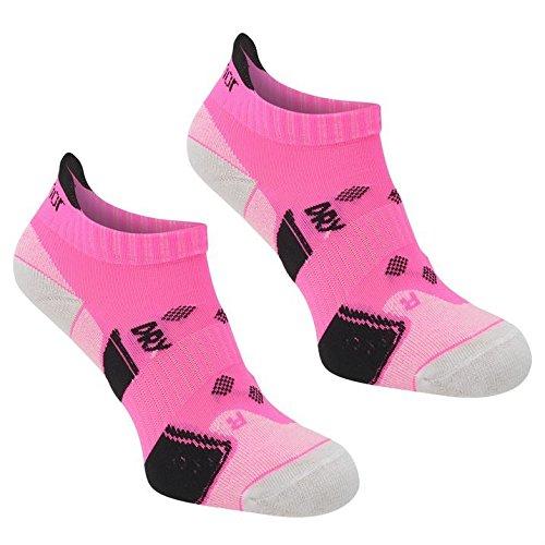 Karrimor Mujer 2 Paquete Running Calcetines Calzado Accesorios Senoras Correr Rosa Ladies...