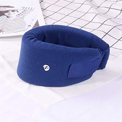 RZDJ Ajustable collarín Blando Cuello de la Espuma Ayuda del Apoyo médico vértebra Cervical La dislocación Fijación Alivio del Dolor de Cuello Cuidado de Primeros Auxilios (Color : Blue, Size : M)