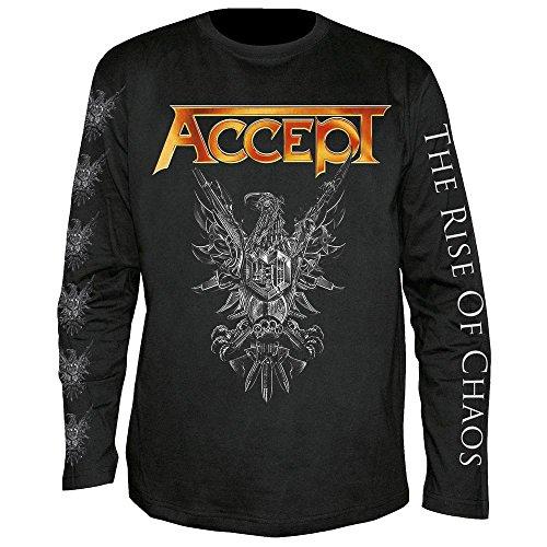 Accept - The Rise of Chaos - Langarm - Shirt/Longsleeve Größe L