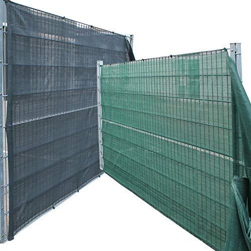 Top-Multi Tennissichtschutz Zaunblende GRÜN Größe 1,8m x 50m