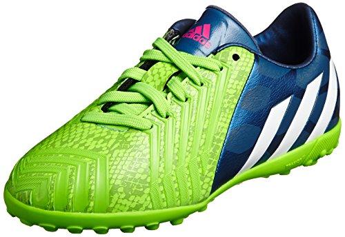 Adidas Fußballschuhe Predator Absolado Instinct TF J Unisex, ricblu/ftwwht/sgreen, 38 2/3 EU