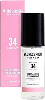 W.DRESSROOM Dress & Living Clear Perfume fragrance 70ml (#No.34 Always Happy)/ダブルドレスルーム ドレス&リビング クリア パフューム 70ml (#No.34 Always Happy)