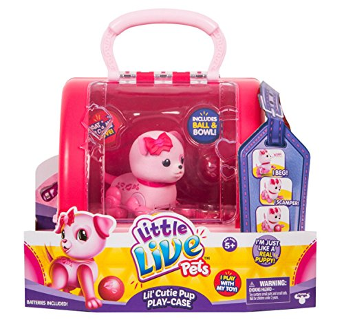 Little Live Pets Lil' Cutie Pups Season 2 Single Pack - Puppy Lovely