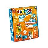 Carioca Baby MI Primer Puzzle   Set 2 Puzzles para da Colorare per Bambini 2+, Fantasía Transportes (43080)