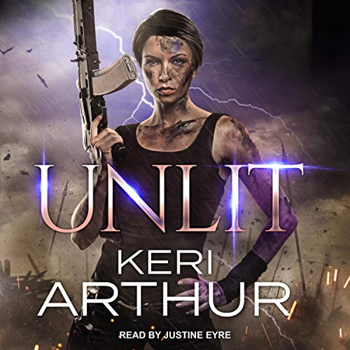 Unlit audiobook cover art