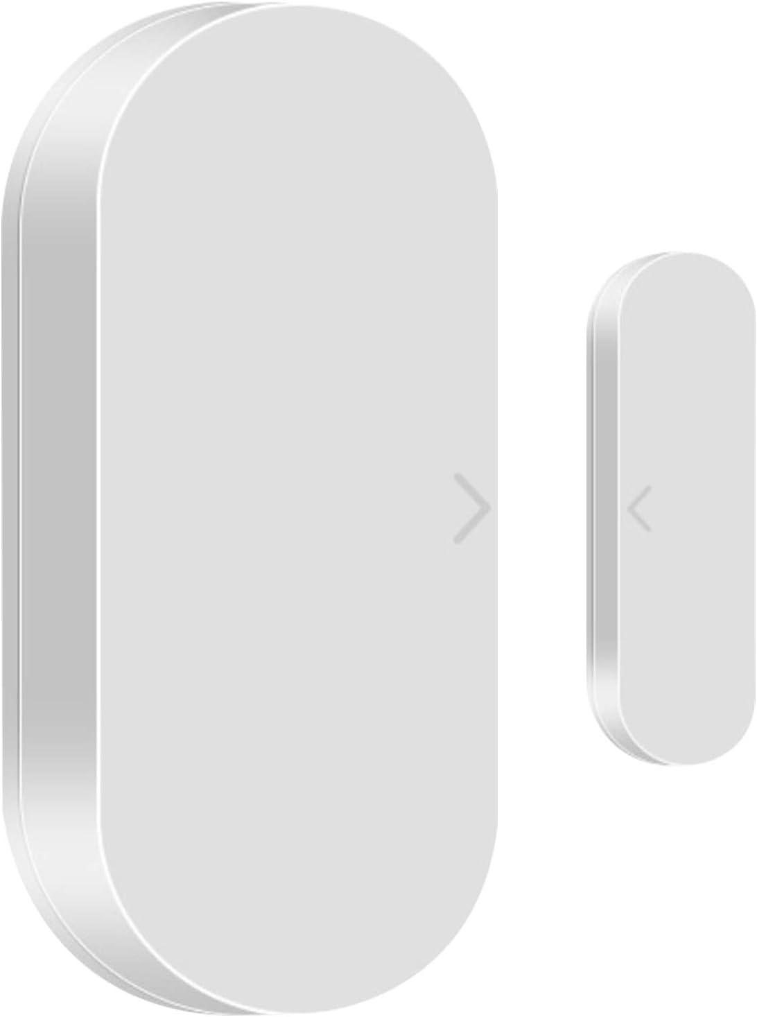 ZigBee - Sensor de puerta, alarma inalámbrica para ventana de puerta inteligente, alarma de seguridad inalámbrica, notificación remota, adecuada para ZigBee Home Automation -ZigBee
