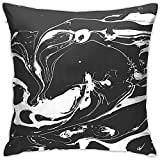 N/A Marble Texture Decorative Square Throw Pillow Covers Cute Throw Pillows Pillowcases