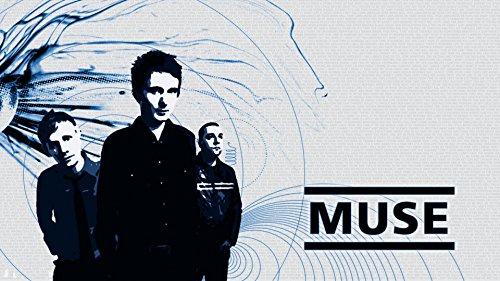 "Kirbis Muse Music Band Music Poster 26"" x 15"" NOT A DVD"