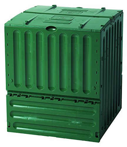 Best Review Of Exaco 627003 Small Eco-King Polypropylene Composter, 110-Gallon, Green