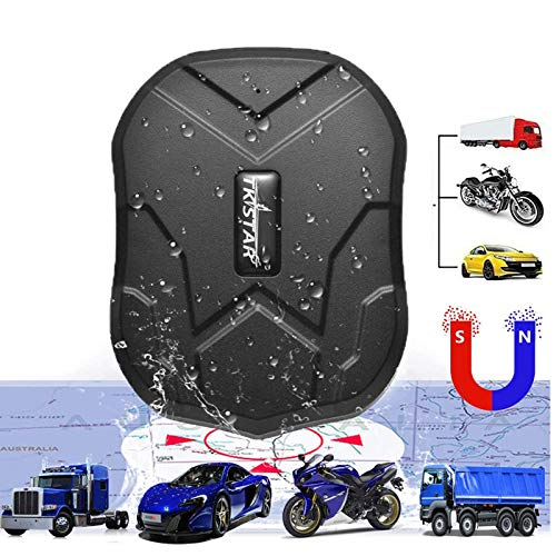 GPS Tracker for Vehicles Hidden 3G Car Tracker Real-time Tracking Anti-Theft GPS Locator with Electric Fence Alarm for Car/Motorcycle/Trucks/Fleet/Boat (3G TK905)