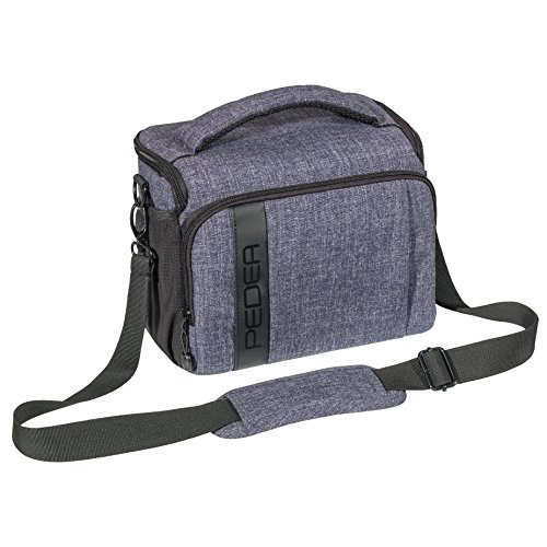 PEDEA Kameratasche (Größe XL, grau)