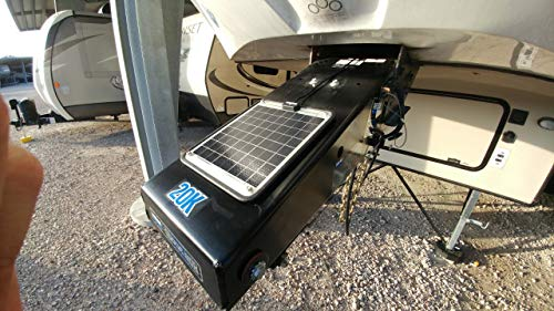 DuraVolt Fifth Wheel & Travel Trailer (Class B&C RV) super magnetic for 1x 12V battery- No experience Plug & Play
