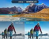 Zoom IMG-1 wimius proiettore wifi bluetooth 6000