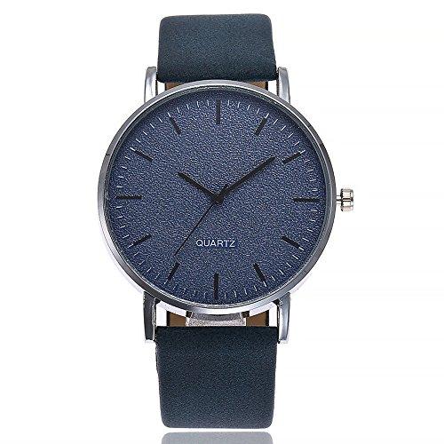SoonerQuicker Uhr Armbanduhr Quartzuhr Frauen Uhren Mode Damenuhr Beiläufig Armbanduhren Analoge Quarz Lederband Wasserdicht Günstig Geschäft Geschenke, Geschenke Für Frauen-3