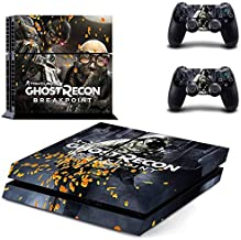 Breakpoint - PS4 Skin Console - PS4 Controller Skin Cover Vinyl Decal Protective by Anitee