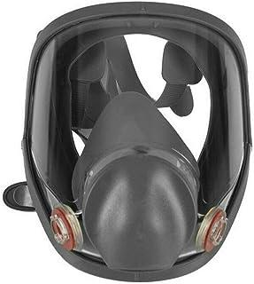 Full Face Vapour Gas Dust Mask Respirator For 3M - 6800 Spray Paint Masks 7 in 1