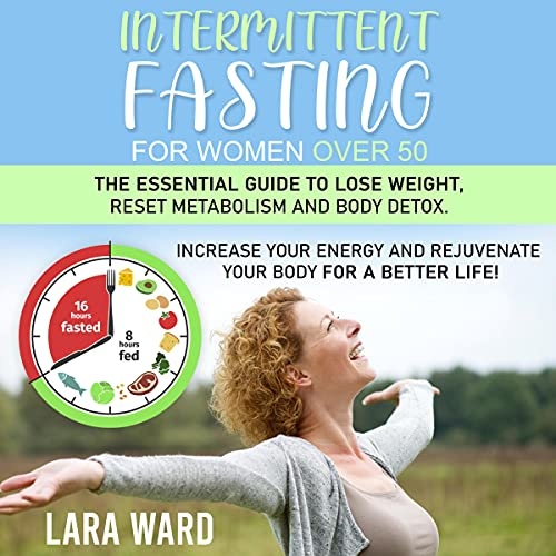 『Intermittent Fasting for Women over 50』のカバーアート