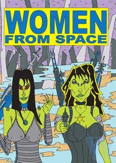 Women From Space (6 Films) - 3-DVD Set ( Cat Women Of The Moon / Missile To The Moon / The Wasp Woman / Invasion Of The Star Creatures / Invasion Of The Bee Gir [ Australische Import ]