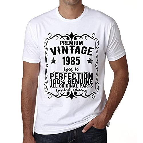 One in the City Premium Vintage Year 1985 Cumpleaños de 36 años Vintage Camiseta cumpleaños Camisetas Camiseta Regalo