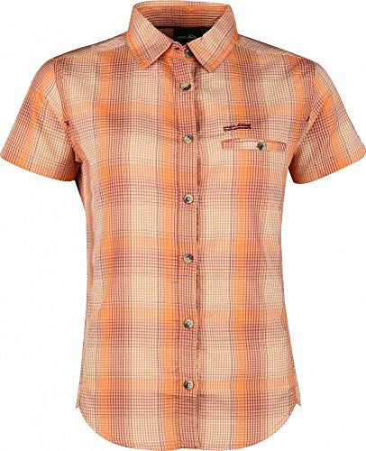 High Colorado WERTACH-L, LDS' Check Shirt, Papaya, papaya, 44