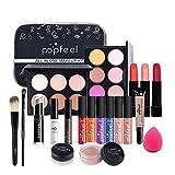 CHSEEO Paleta de Maquillaje Set Paleta de Sombras de Ojos, Juego de Maquillaje Kit de Maquillaje para Mujeres y Niñas Caja de Regalo Cosméticos #7