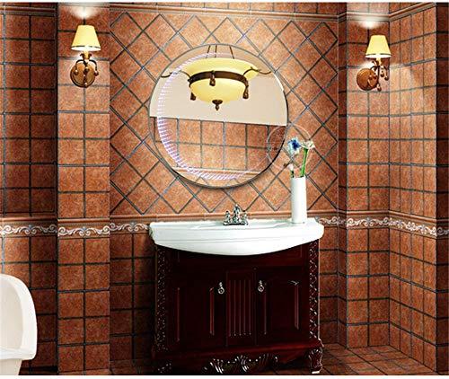 GYPPG Muebles Modernos con Espejos Decorativos Ligeros, túnel Simple de la Pared del Espejo del Cuarto de baño del Espejo del Dormitorio del Hotel