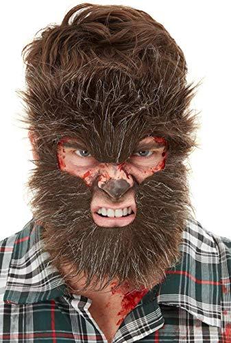 Smiffys Make-Up, Werewolf Face Fur Maquillaje FX