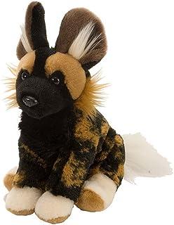 Wild Republic African Wild Dog Plush, Stuffed Animal, Plush Toy, Gifts for Kids, Cuddlekins 12 Inches