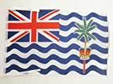 AZ FLAG Bandera de los Territorio BRITÁNICO del OCÉANO ÍNDICO 45x30cm - BANDERINA BRITANICA 30 x 45 cm cordeles