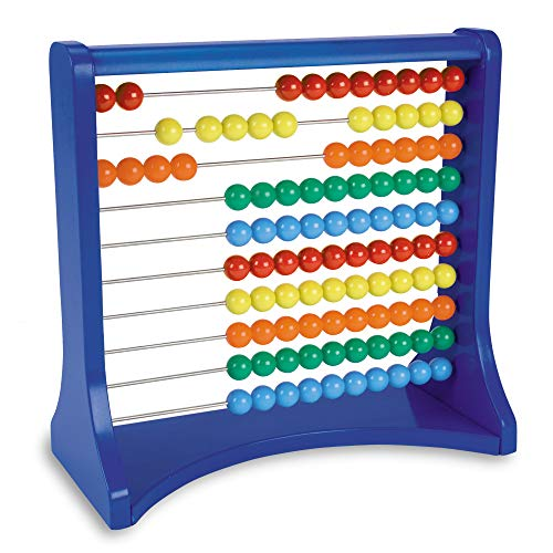 Learning Resources Ten-Row Abacus, Early Math Skills, Addition/Subtraction, Abacus, Abacus for Kids, Math Toys, Ages 5+