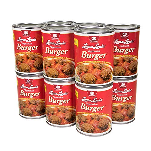 Loma Linda - Plant-Based - Vegetarian Burger (20 oz.) (Pack of 12) - Kosher