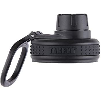 Takeya Originals Bottle Spout Lid, Black