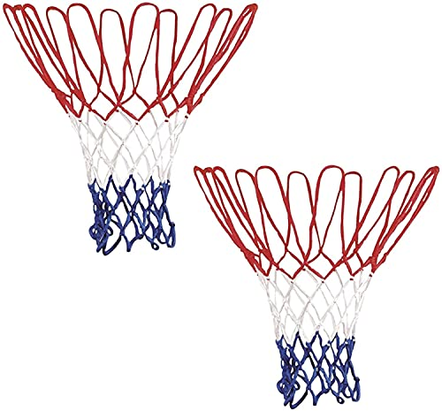 FHK Professionele, robuuste basketbalnetten, geschikt voor basketbalkorf, standaard basketbalnet, hoge dichtheid…