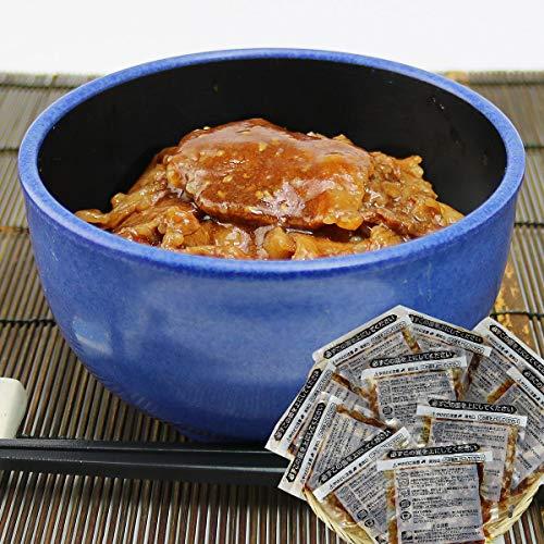 食の達人森源商店 業務用 牛カルビ丼の素 100g×10袋 温めるだけ 日本食研 惣菜 弁当 冷凍便
