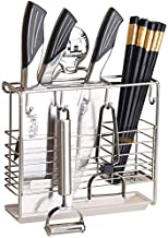 Home Living Museum / 304 Stainless Steel Tool Storage Rack Knife Holder Wall Hanging Kitchen Racks Knife Holder Chopsticks...