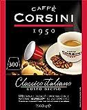 Caffè Corsini - Classico Italiano Miscela di Caffè in Capsule Compatibili Nespresso, Gusto Forte e Deciso - Confezione da 300 capsule