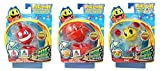 Pac-Man Pacman and The Ghostly Adventures - Pac Panic Spinner 3 Pack - Blinky The Ghost, Yellow Pac & Clyde The Ghost (S2)
