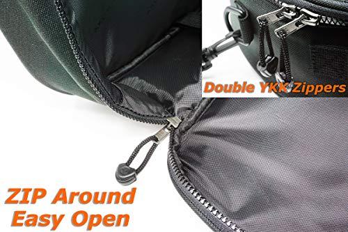 AKONA Pro Scuba Diving Regulator Bag Blackout